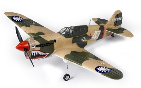 SN Hobbies - FMS 800mm P40 (Tiger Version) Brushless Powered RC